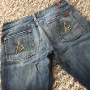 A Pocket Seven for All Man Kind jeans